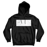 Drake Carter V tweet on a black hoodie from Tee Tweets