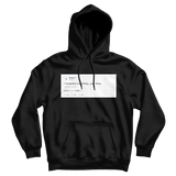Drake I remember everything just know black tweet hoodie