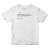 Drake try something new tweet on a white t-shirt from Tee Tweets