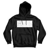 Drake we made it black tweet hoodie
