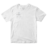 Drake we made it white tweet shirt