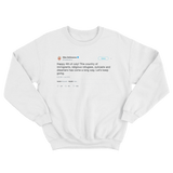 Ellen DeGeneres happy 4th of July white tweet sweater