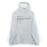 Ellen DeGeneres Thanksgiving parading down Fifth Ave tweet on a white hoodie from Tee Tweets