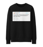 Ellen DeGeneres Thanksgiving parading down Fifth Ave tweet on a black sweatshirt from Tee Tweets