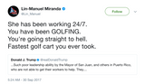 Lin-Manuel-Miranda-shes-been-working-24-7-you-have-been-golfing-youre-going-straight-to-hell-fastest-golf-cart-you-ever-took-tweet-tee-tweets
