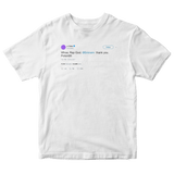 J Cole rap god Eminem tweet on a white t-shirt from Tee Tweets
