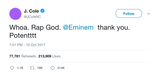 "J. Cole - ""Rap God Eminem"""