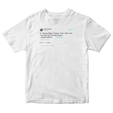 Jaden Smith if I wanna wear a dress I will tweet on a white t-shirt from Tee Tweets