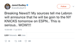Jared-Dudley-breaking-news-lebron-will-announce-that-he-will-be-going-to-new-york-knicks-tweet-tee-tweets