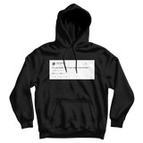 Jaylen Brown do you really die if ideas live forever tweet on a black hoodie from Tee Tweets