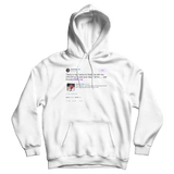 Joel Embiid here is my chance to be with my crush NBAvote white tweet hoodie