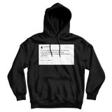 John Mayer congratulations about your face tweet on a black hoodie from Tee Tweets