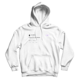 John Mayer follow your daydreams tweet on a white hoodie from Tee Tweets