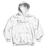 Jose Canseco global warming could have saved Titanic white tweet hoodie