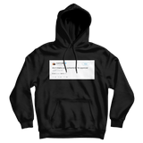 Kanye West don't trade authenticity for approval tweet on a black hoodie from Tee Tweets