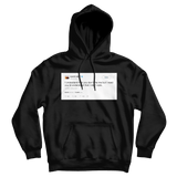 Kanye West I understand you dont like me but I need you to understand that I dont care black tweet hoodie