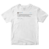Kevin Durant let's go back to being competitive tweet on a white t-shirt from Tee Tweets