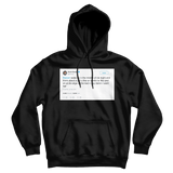 Kevin Durant you ever wake up in the middle of the night thinking about a girl and say damn I want her black tweet hoodie