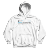 Kevin Durant played HORSE for girl in high school tweet on a white hoodie from Tee Tweets