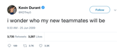 "Kevin Durant - ""New Teammates"""