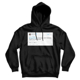 Kevin Durant want to play for OKC for my whole career tweet on a black hoodie from Tee Tweets