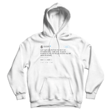 Kobe Bryant the final chapter retirement tweet on a white hoodie from Tee Tweets