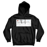 Lil B booty is a gift tweet on a black hoodie from Tee Tweets