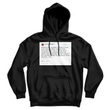 Lil B licked the booty tweet on a black hoodie from Tee Tweets