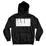 Mac Miller be you you'll be fine tweet on a black hoodie from Tee Tweets