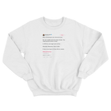 Macauley Culkin merry Christmas to me from you white tweet sweater