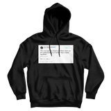 Magic Johnson captain obvious Heat and Spurs tweet on a black hoodie from Tee Tweets