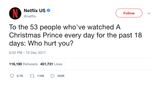 Netflix who hurt you tweet from Tee Tweets