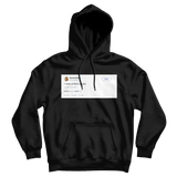 Nicki Minaj I wish a bitch would tweet on a black hoodie from Tee Tweets