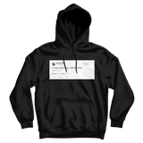 Nicki Minaj you know what bye lmfao tweet on a black hoodie from Tee Tweets