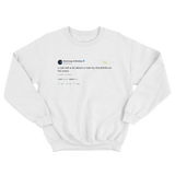 Post Malone you can tell a lot about a man from jibbits on Crocs tweet white sweater from Tee Tweets