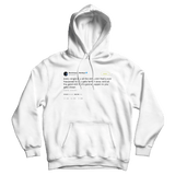 Post Malone every single day good things get closer tweet on a white hoodie from Tee Tweets