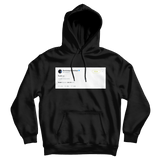 Post Malone fuck u tweet on a black hoodie from Tee Tweets