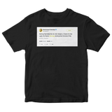 Post Malone you have to be ugly to have swag tweet on a black t-shirt from Tee Tweets