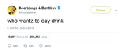Post-Malone-who-wants-to-day-drink-tweet-tee-tweets