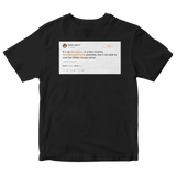 Robin Lopez dont worry Warriors soon Donald Trump wont be able to visit White House either black tweet shirt