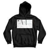 Seth Rogen Ivanka Trump tell your dad this black tweet hoodie