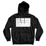 Stephen Colbert are you insance Donald Trump Jr. tweet on a black hoodie from Tee Tweets