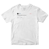 T-Pain protect Eminem at all costs tweet on a white t-shirt from Tee Tweets