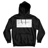 Tony Hawk gets asked why are you Tony Hawk tweet on a black hoodie from Tee Tweets