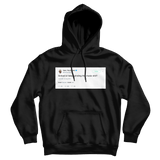 Tyler The Creator school or keep griding music tweet on a black hoodie from Tee Tweets