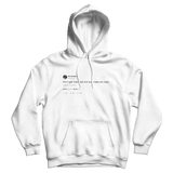 Wiz Khalifa don't get mad get rich and make them mad tweet on a white hoodie from Tee Tweets