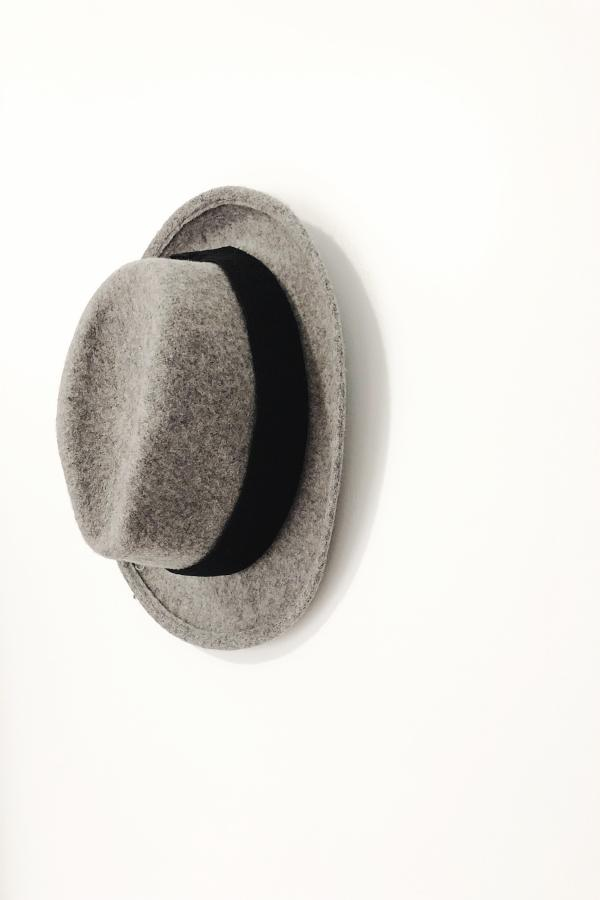 153e663a780 Short Brim Wool Fedora Hat