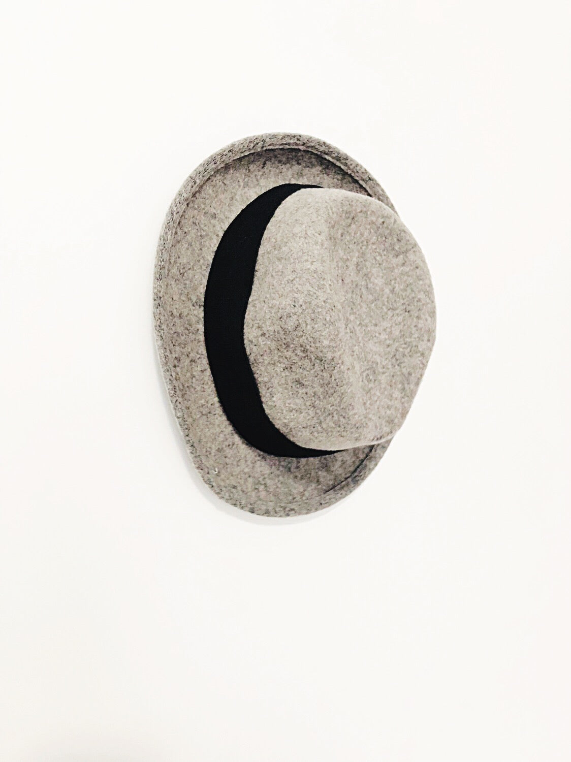 Short Brim Wool Fedora Hat