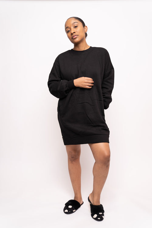 Oversized Sweatshirt with Pockets