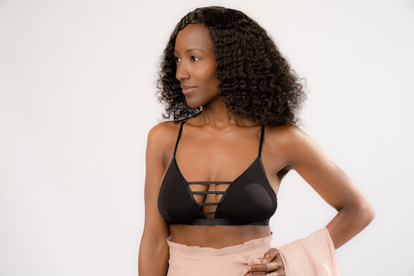 Bralette with Cutouts - BLANK Wardrobe